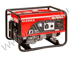 Портативный генератор Elemax SH 7600EX-RS мощностью 6.5 кВт)