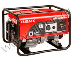 Портативный генератор Elemax SH 7600EX-R мощностью 6.5 кВт)