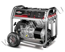 Портативный генератор Briggs & Stratton 6250 A мощностью 6.25 кВт)
