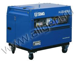 Портативный генератор SDMO ALIZE 6000 E мощностью 6 кВт)