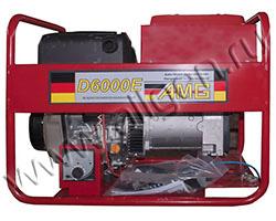 Портативный генератор AMG D 6000E мощностью 5.5 кВт)