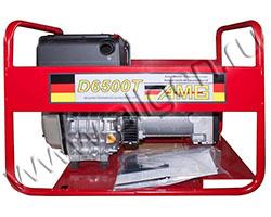 Портативный генератор AMG D 6500T мощностью 5.6 кВт)