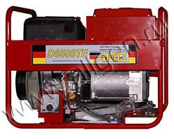 Портативный генератор AMG D 6500TE мощностью 5.6 кВт)