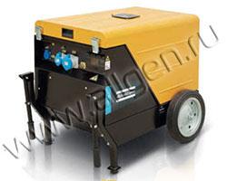 Портативный генератор Atlas Copco QEP S7 мощностью 5.52 кВт)