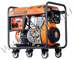 Портативный генератор Aurora ADE 6500 D мощностью 5.5 кВт)