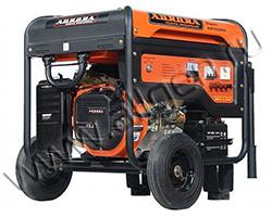 Портативный генератор Aurora AGE 6500 DSX мощностью 5.5 кВт)
