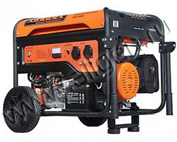 Портативный генератор Aurora AGE 7500 D мощностью 6.5 кВт)