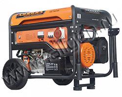 Портативный генератор Aurora AGE 7500 DSX мощностью 6.5 кВт)
