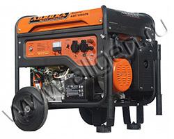 Портативный генератор Aurora AGE 7500 DZN мощностью 6.5 кВт)