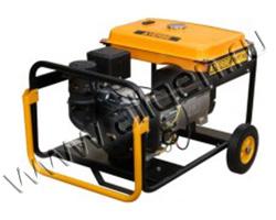 Портативный генератор AYERBE AY8000TKE мощностью 6.4 кВт)