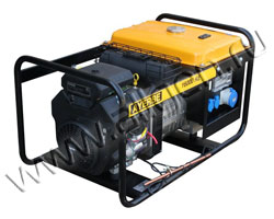 Бензиновый генератор AYERBE AY16000KE мощностью 12 кВт