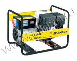 Портативный генератор Eisemann E 7400 мощностью 5.7 кВт)
