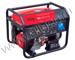 Портативный генератор Fubag BS 5500 A ES мощностью 5.5 кВт)