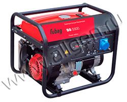 Портативный генератор Fubag BS 5500 мощностью 5.5 кВт)