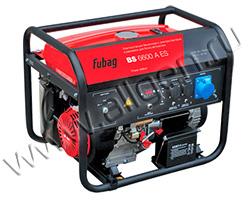 Портативный генератор Fubag BS 6600 A ES мощностью 6.5 кВт)