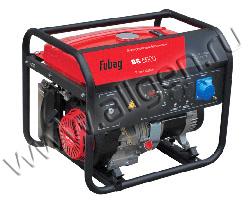 Портативный генератор Fubag BS 6600 мощностью 6.5 кВт)