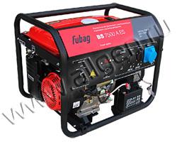 Портативный бензиновый генератор Fubag BS 7500 A ES мощностью 7.3 кВт