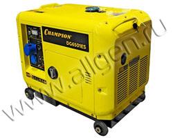 Портативный генератор Champion DG6501ES+ATS мощностью 5.5 кВт)