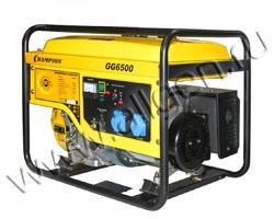 Портативный генератор Champion GG6500 мощностью 5.5 кВт)