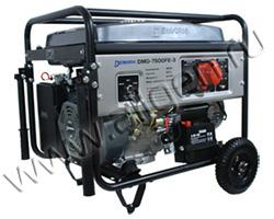 Портативный генератор DeMark DMG 7500FE-3 мощностью 6.5 кВт)