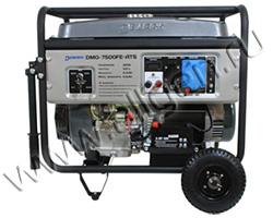 Портативный генератор DeMark DMG 7500FE ATS мощностью 6.5 кВт)