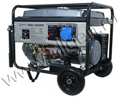 Портативный генератор DeMark DMG 7500FE мощностью 6.5 кВт)