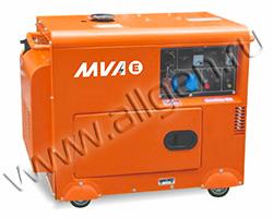 Дизельный генератор MVAE ДГ 5300 К (5.3 кВт)