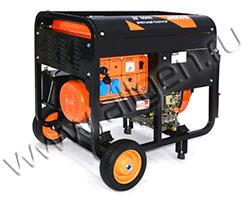 Портативный генератор MVAE ДГ 5500 мощностью 5.5 кВт)