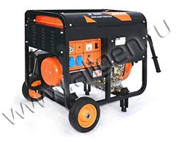 Портативный генератор MVAE ДГ 6500 мощностью 6.5 кВт)