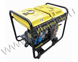Портативный генератор Champion DG6501E мощностью 5.5 кВт)
