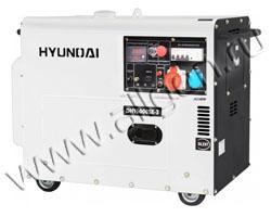 Портативный генератор Hyundai DHY 6000SE-3 мощностью 5.5 кВт)