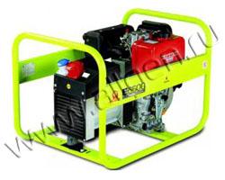 Дизельный генератор Pramac E 6500 (5.3 кВт)