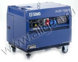 Портативный генератор SDMO ALIZE 7500 TE AUTO мощностью 6 кВт)