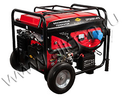 Портативный генератор DDE DPG6501Е-ATS мощностью 6.5 кВт)