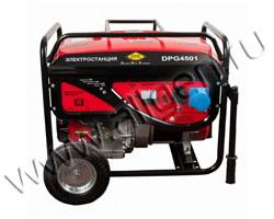 Портативный генератор DDE DPG6501Е мощностью 6.5 кВт)
