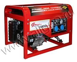 Портативный генератор DDE DPG7551E мощностью 6 кВт)