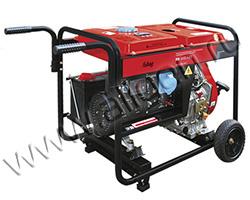 Портативный генератор Fubag DS 5500 A ES мощностью 5.5 кВт)