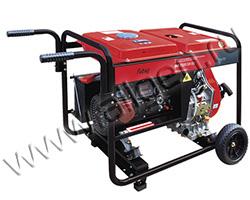 Портативный генератор Fubag DS 7000 DA ES мощностью 5.6 кВт)