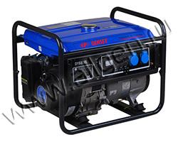 Портативный генератор EP Genset DY 6800 L мощностью 5.5 кВт)