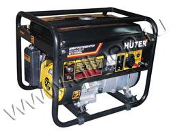 Портативный бензиновый генератор Huter DY4000L мощностью 3.3 кВт