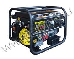 Портативный генератор Huter DY6500LXA мощностью 5.5 кВт)