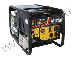 Портативный генератор Huter DY12500LX мощностью 9.35 кВт)