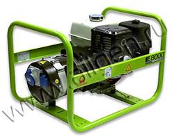 Портативный генератор Pramac E 8000 мощностью 6.4 кВт)