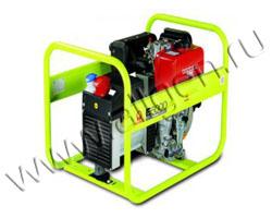 Портативный генератор Pramac E 6000 мощностью 5.5 кВт)