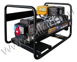 Бензиновый генератор Robin-Subaru EB 7.0/400-SE