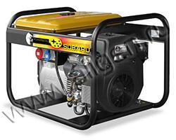 Портативный бензиновый генератор Robin-Subaru EB 14.0/230-SLE мощностью 12.8 кВт