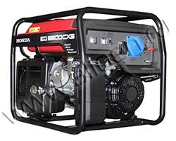 Портативный генератор Honda EG 5500 CXS мощностью 5.5 кВт)