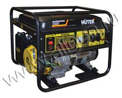 Портативный генератор Huter DY6500L мощностью 5.5 кВт)