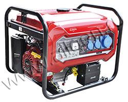 Портативный генератор Elitech БЭС 8000ЕАМ мощностью 6.5 кВт)