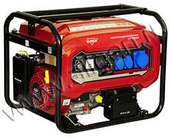 Портативный генератор Elitech БЭС 8000ЕМ мощностью 6.5 кВт)